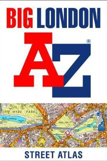 Big London A-Z Street Atlas A-Z Map Co Ltd Geographers'