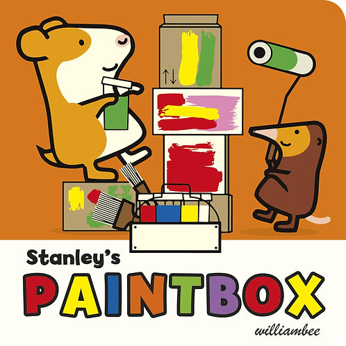 Stanley's Paintbox       by William Bee