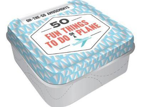 On-the-Go Amusements: 50 Fun Things to Do on a Plane Books Chronicle