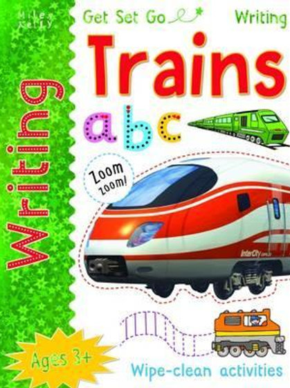 Get Set Go Writing: Trains Miles Kelly