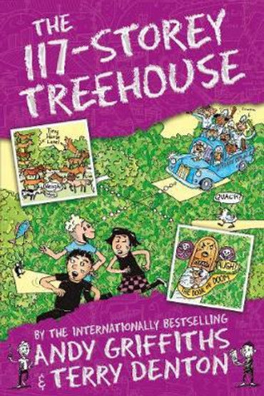 117-Storey Treehouse       by Andy Griffiths