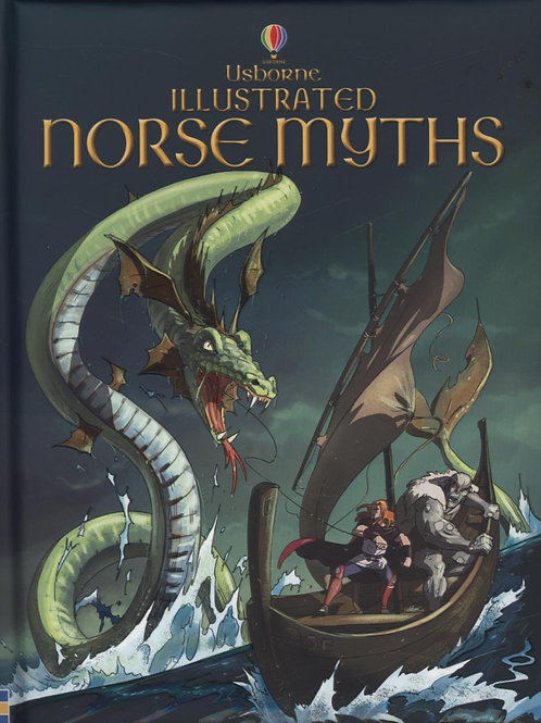 Illustrated Norse Myths Alex Frith
