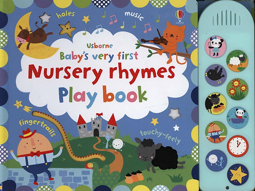 Baby's Very First Nursery Rhymes Playbook       by Fiona Watt