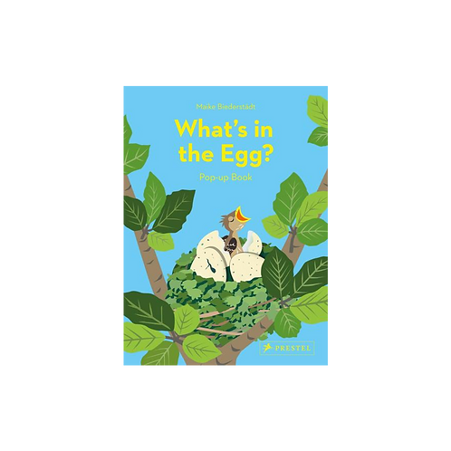 What's in the Egg?: Pop-Up Book by Maike Beiderstädt