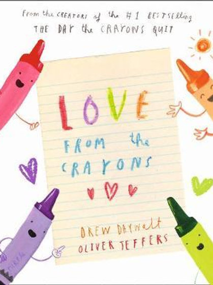 Love from the Crayons Drew Daywalt