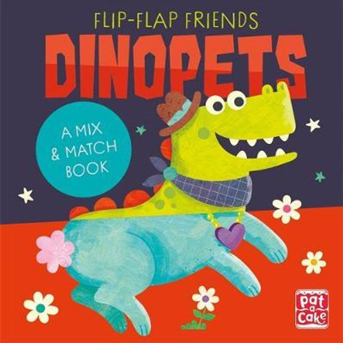 Flip-Flap Friends: Dinopets  Pat-a-Cake