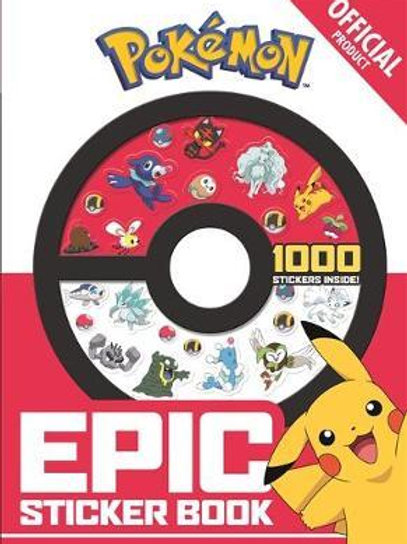 The Official Pokemon Epic Sticker Book  Pokemon