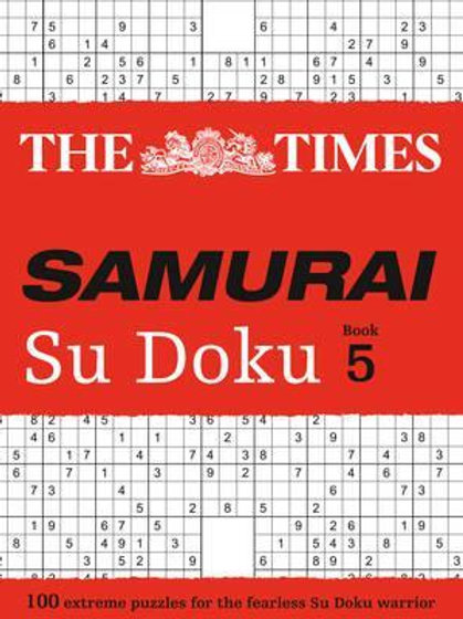 Times Samurai Su Doku 5       by The Times Mind Games