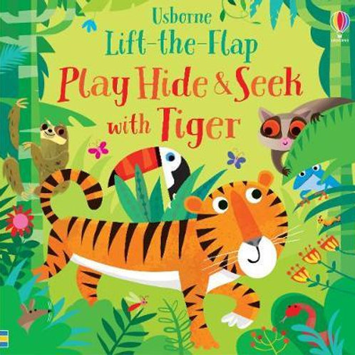 Play Hide and Seek with Tiger Sam Taplin