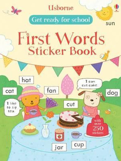 Get Ready for School First Words Sticker Book