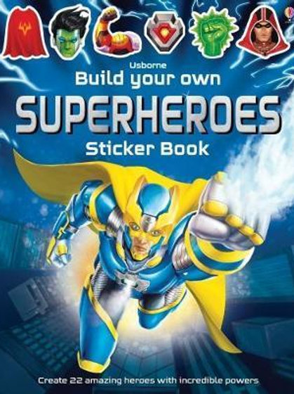 Build Your Own Superheroes Simon Tudhope