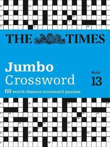 Times 2 Jumbo Crossword Book 13       by The Times Mind Games