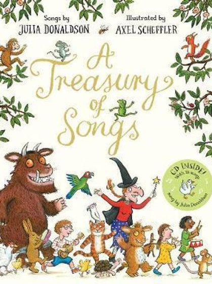 A Treasury of Songs: Book and CD Pack Julia Donaldson
