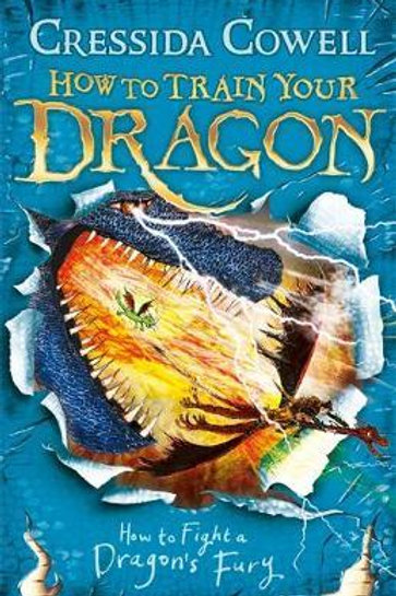 How to Fight a Dragon's Fury: Book 12 Cressida Cowell