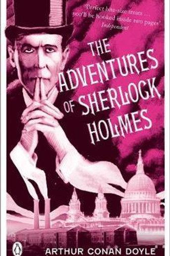 Adventures of Sherlock Holmes       by Sir Arthur Conan Doyle