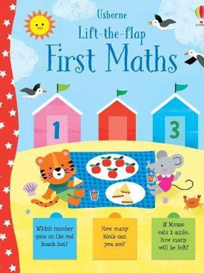 Lift-the-Flap First Maths Jessica Greenwell
