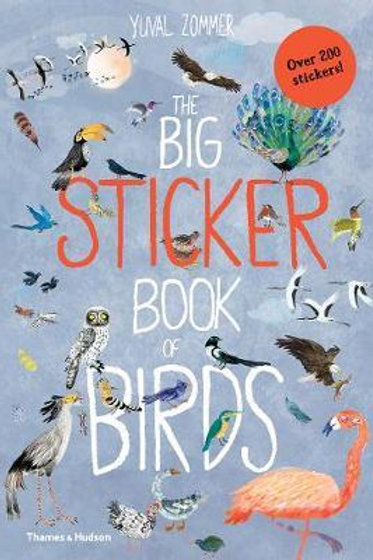 The Big Sticker Book of Birds Yuval Zommer