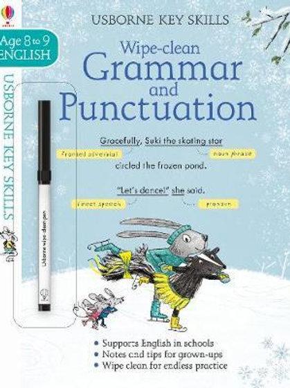 Wipe-Clean Grammar & Punctuation 8-9       by Jane Bingham
