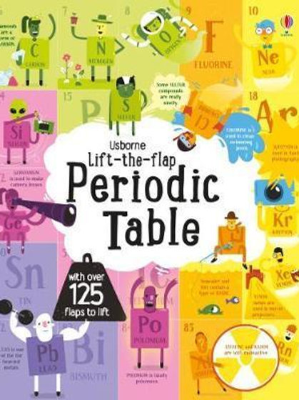 Lift-The-Flap Periodic Table Alice James