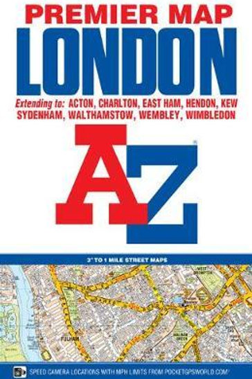 London Premier Map A-Z Map Company Geographers'