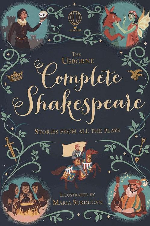 Complete Shakespeare Anna Milbourne