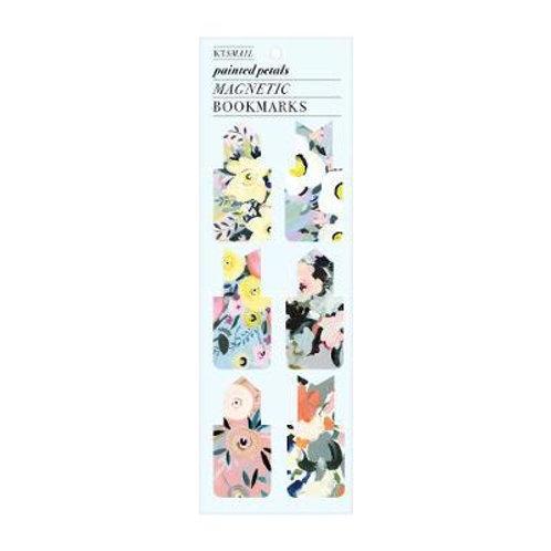 Painted Petals Magnetic Bookmark Sarah McMenemy