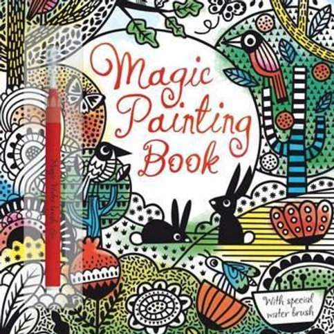 Magic Painting Book Fiona Watt