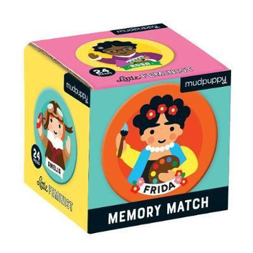 Little Feminist Mini Memory Match Game       by Galison Mudpuppy
