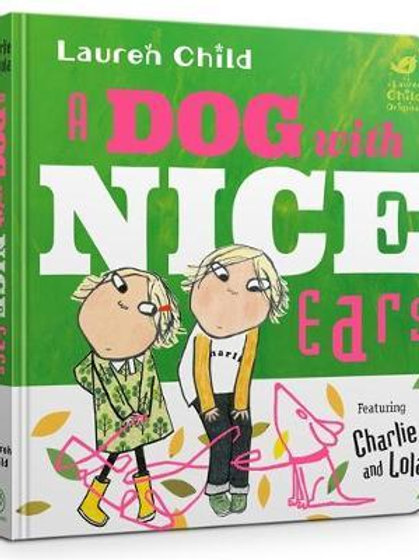 A Dog With Nice Ears Board Book Lauren Child