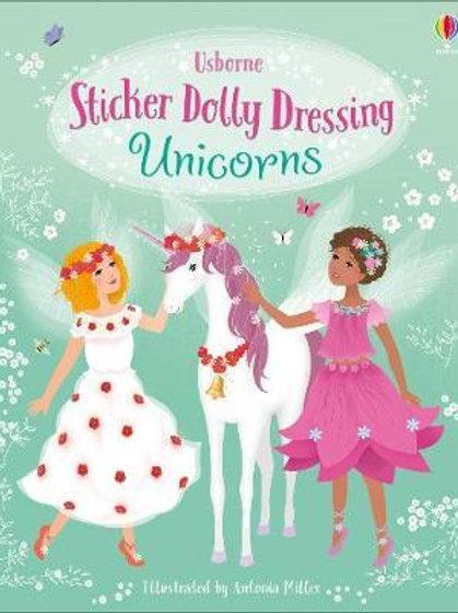 Sticker Dolly Dressing Unicorns Fiona Watt