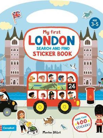 My First London Search and Find Sticker Book       by Marion Billet