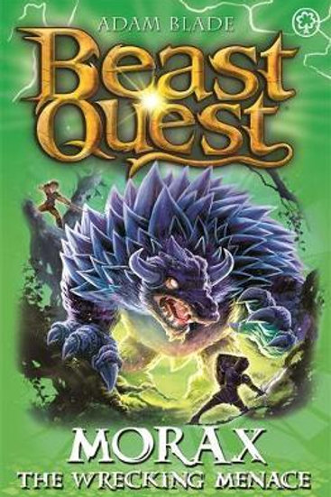 Beast Quest: Morax the Wrecking Menace       by Adam Blade