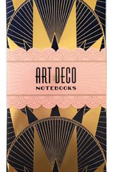 Art Deco Notebooks Books Chronicle