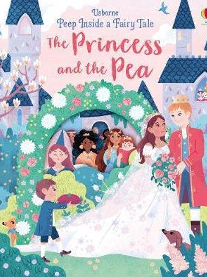 Peep Inside a Fairy Tale Princess & the Pea Anna Milbourne