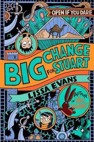 Big Change for Stuart Lissa Evans