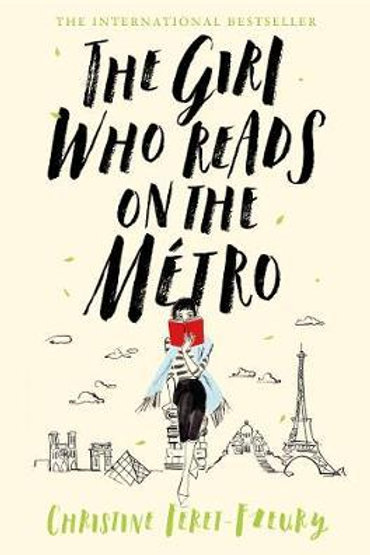 Girl Who Reads on the Metro       by Christine Feret-Fleury