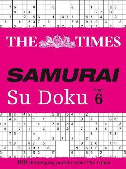 Times Samurai Su Doku 6       by The Times Mind Games