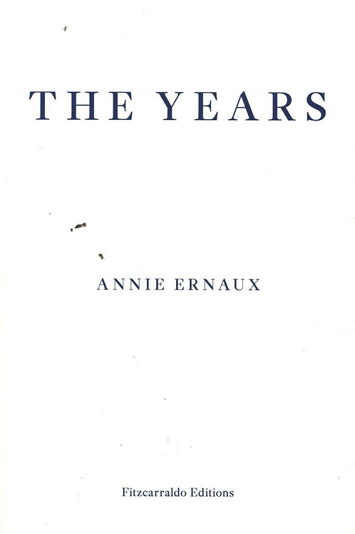 Years     by  Annie Ernaux