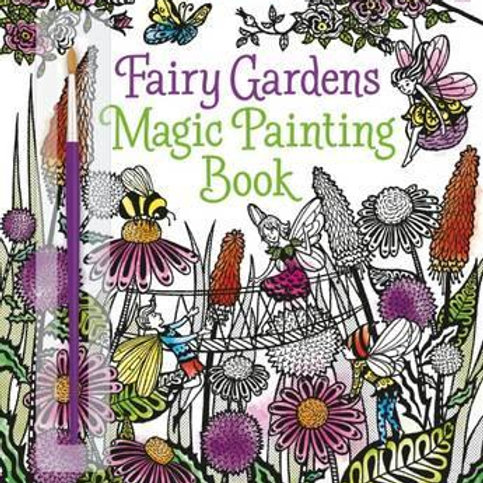 Fairy Gardens Magic Painting Book Lesley Sims