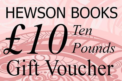 £10 Book Voucher