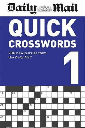 Daily Mail Quick Crosswords Volume 1       by Daily Mail
