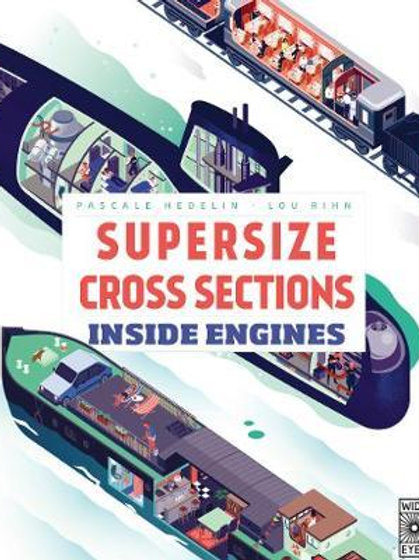 Supersize Cross Sections: Inside Engines Pascale Hedelin