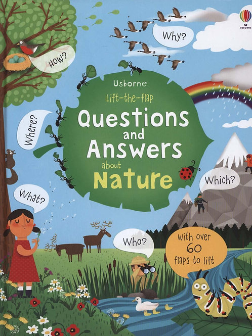 Lift-The-Flap Questions and Answers about Nature Katie Daynes