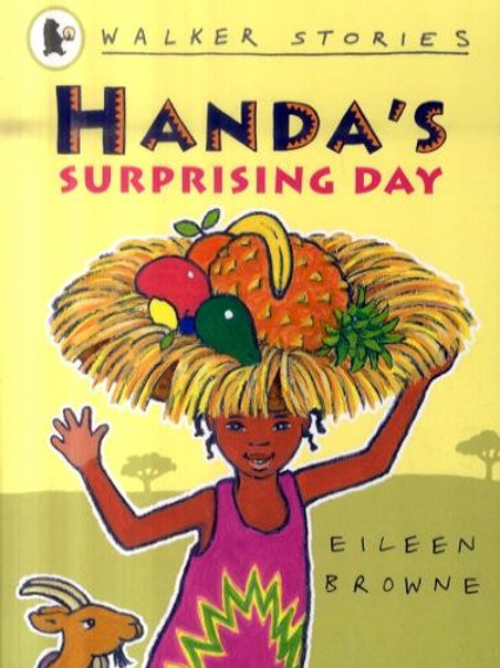Handa's Surprising Day       by Eileen Browne