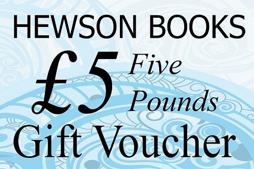 £5 Book Voucher