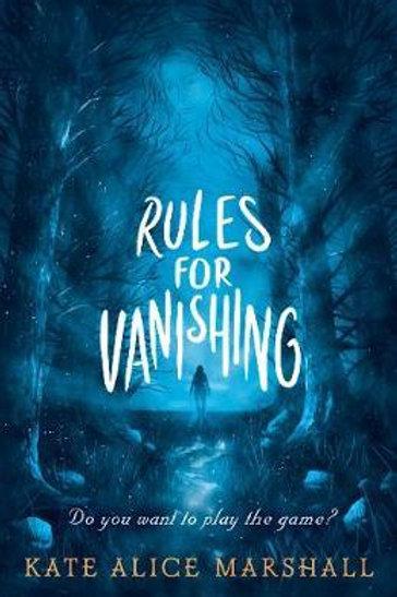 Rules for Vanishing Kate Alice Marshall