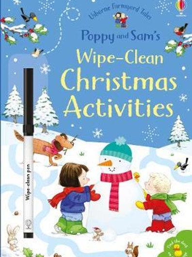 Poppy and Sam's Wipe-Clean Christmas Activities Sam Taplin
