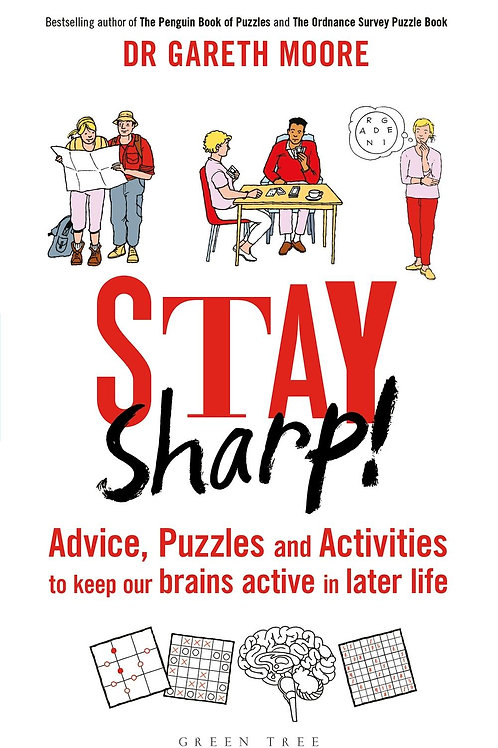 Stay Sharp!       by Dr Gareth Moore
