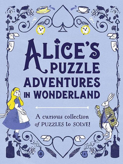 Alice's Puzzle Adventures in Wonderland Moore Gareth