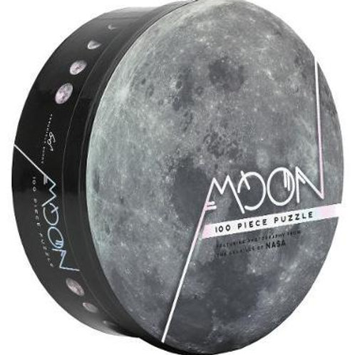 Moon: 100 Piece Puzzle       by Chronicle Books